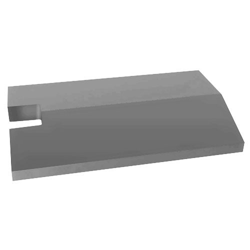 Daszek betonowy dwuspadowy z wycięciem na słupek 65mm